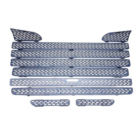 SCANIA R 04-09 stainless grill chrome cover