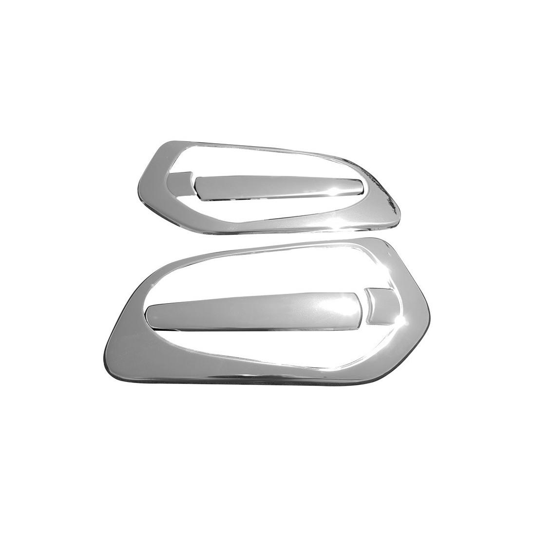 MERCEDES ACTROS MP4 door hanlde cover inox chrome 3D