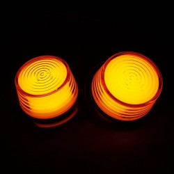 Budgetversion Ersatzglas Gylle LED Orange-Orange