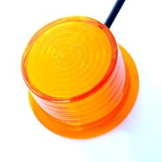Budgetversion Ersatzglas Gylle LED Orange NEON
