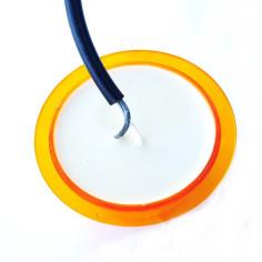 Lens model GYLLE LED orange NEON