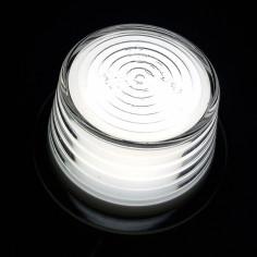 Budgetversion Ersatzglas Gylle LED Weiss NEON