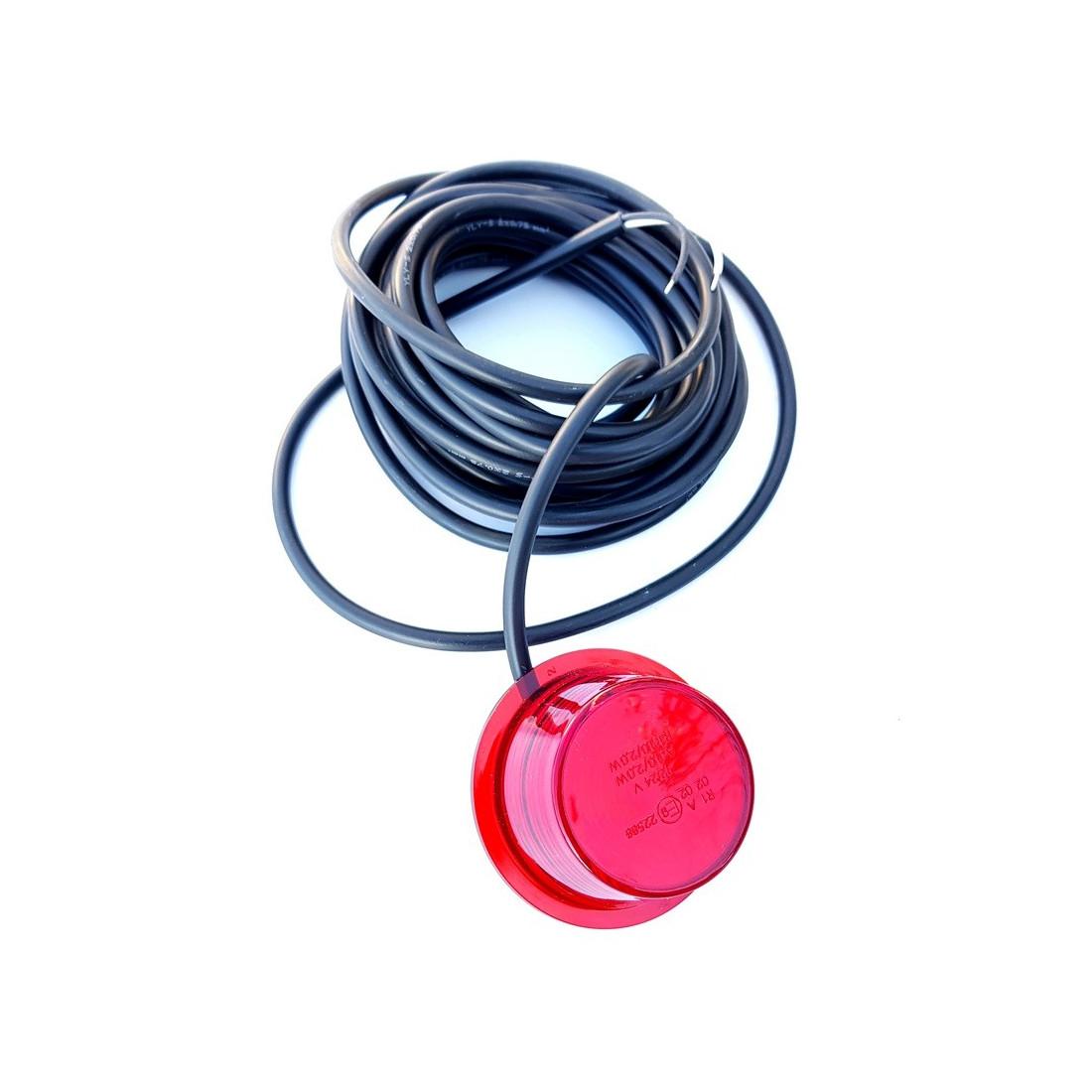 Lens model GYLLE LED red NEON