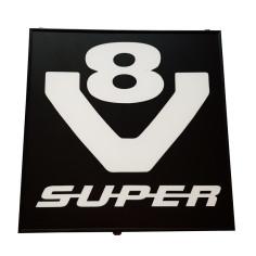 SCANIA V8 SUPER LED Leuchtkaste 48x48