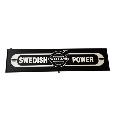 VOLVO SWEDISH POWER  TABLICZKA PODŚWIETLANA LED 90x20