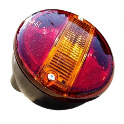 Tail light Hella round 3 function bulb