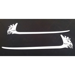 SCANIA R stainless decoration bumper