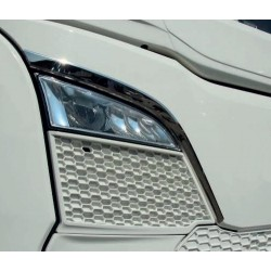 SCANIA NG 3D pressed chrome grill decoration upper grill trims