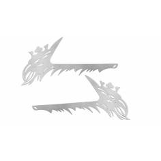 SCANIA 4 R door handle frame stainless steel chrome
