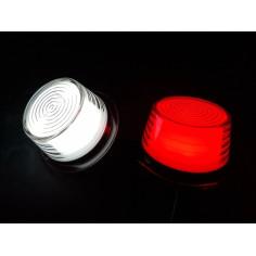 LED DUŃSKA LAMPA OBRYSOWA NEON BIAŁO CZERWONA TYP GYLLE