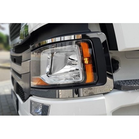 SCANIA NG S headlights frame chrome stainless