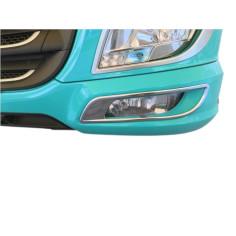 DAF XF E6 + fog lights frame cover stainless