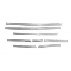 DAF xf E6 106  Staniless grill laths 3D dashboard chrome