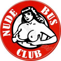 NUDE BUS CLUB nalepka