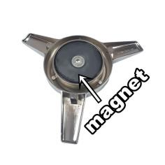 Spinner stainless chrome + magnet