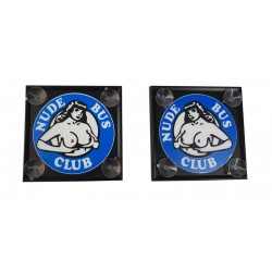 NUDE BUS CLUB 15x15 Světelné led tabulky par