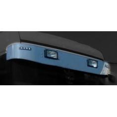Scania 4 R sunvisor stainless chrom