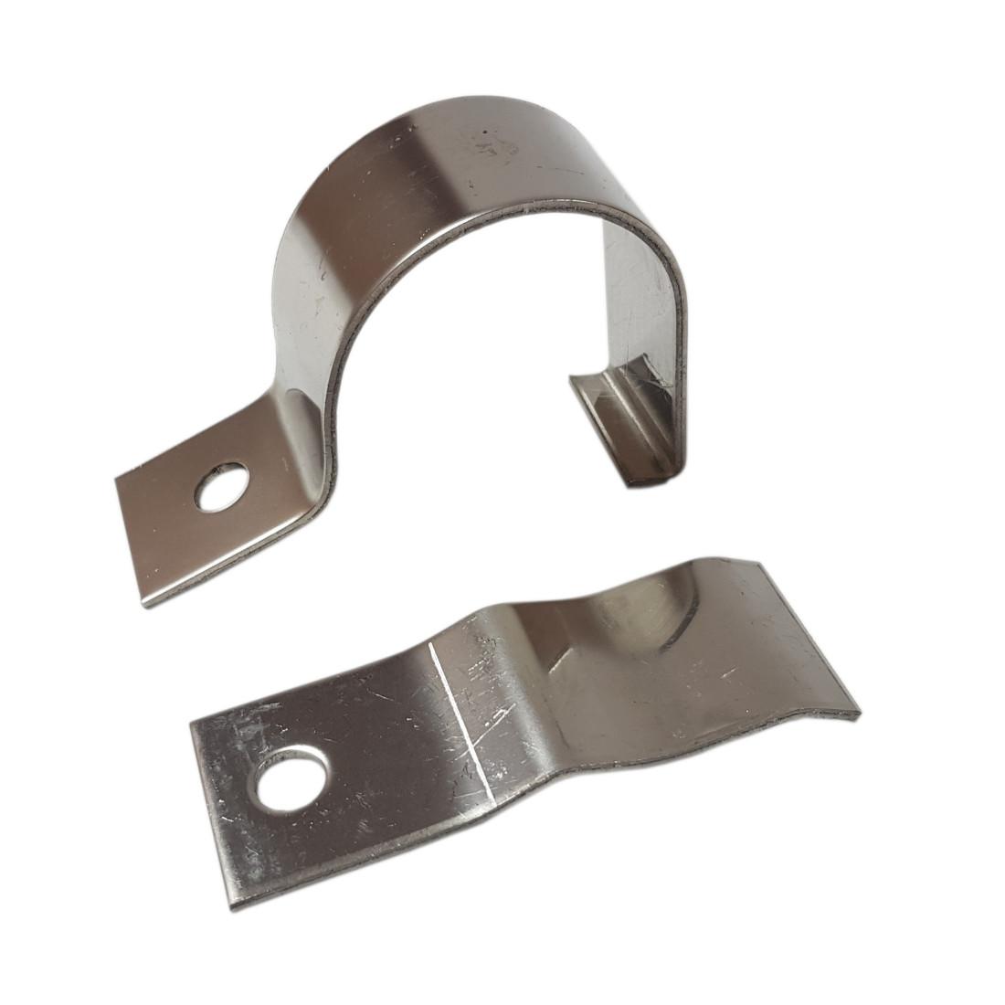 Stainless halogen holder bracket