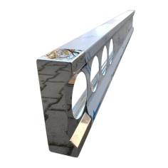 Stoßstange Auflieger Edelstahl Chrom 240 cm