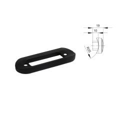 Rubber black gasket for fitting light on bull bars - side marker FT-015