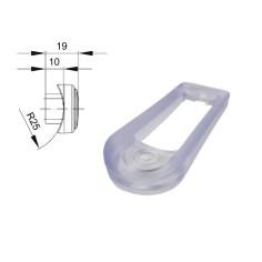 Rubber clear gasket for fitting light on bull bars - side marker FT-015