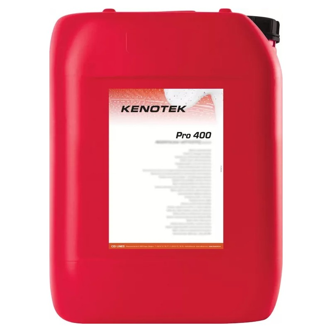 KENOTEK PRO 400 CLEANS AND RENOVATES METAL CONSTRUCTIONS