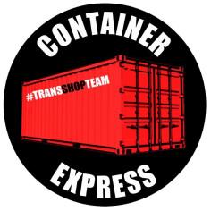 CONTAINER EXPRESS NALEPKA 10 CM