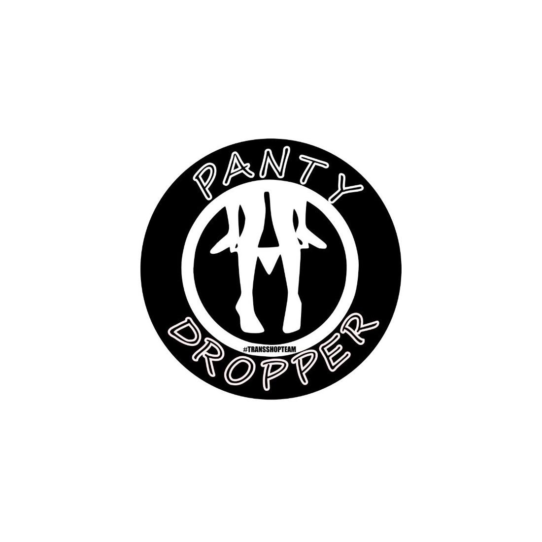 PANTY DROPPER NAKLEJKA WLEPA 10 CM