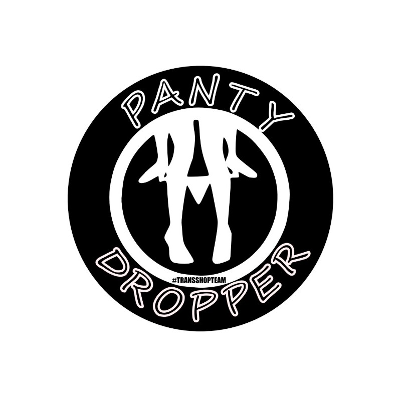 PANTY DROPPER STICKER 10 CM