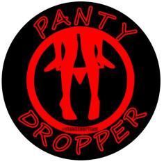 PANTY DROPPER AUFKLEBER 10 CM