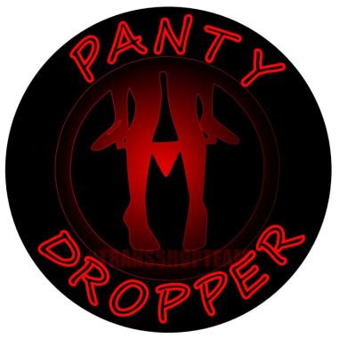 PANTY DROPPER STICKER 10 CM