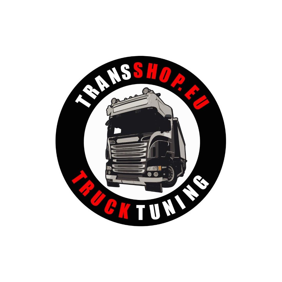 TRANSSHOP NAKLEJKA WLEPA 10 CM