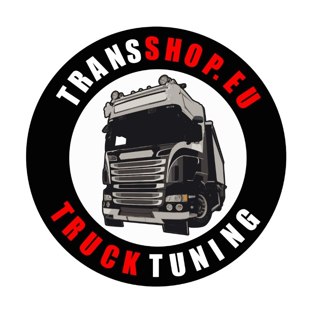 TRANSSHOP STICKER 10 CM