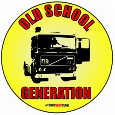 OLD SCHOOL GENERATION STICKER 10 CM