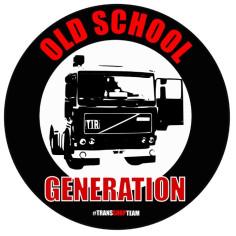OLD SCHOOL GENERATION NALEPKA 10 CM