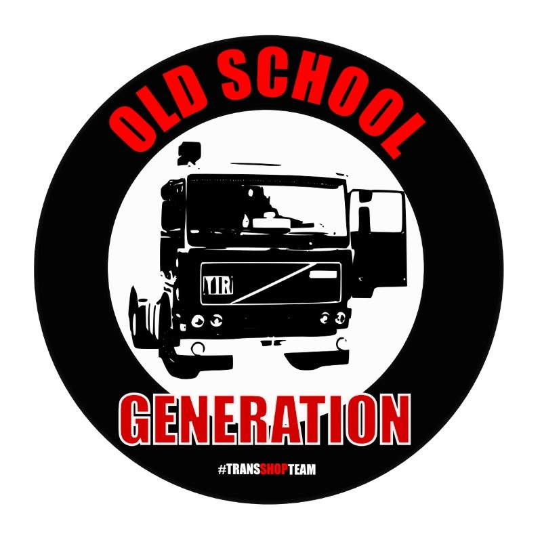 OLD SCHOOL GENERATION AUFKLEBER 10 CM