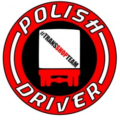 POLISH DRIVER AUFKLEBER 10 CM