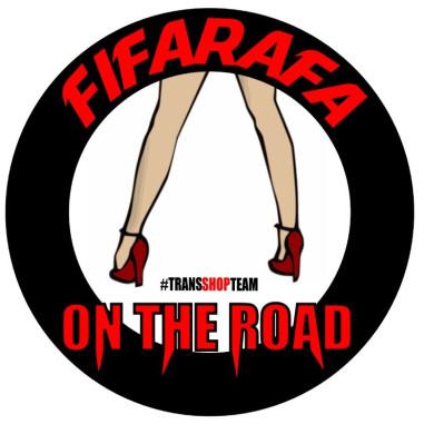 FIFARAFA ON THE ROAD STICKER 10 CM