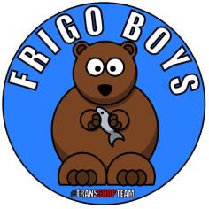 FRIGO BOYS NAKLEJKA WLEPA 10 CM