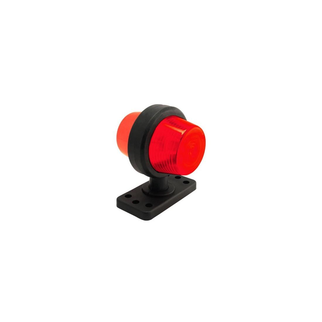 Poziční světlo GYLLE 110 oranzovo-cervene