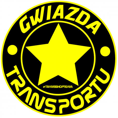 GWIAZDA TRANSPORTU AUFKLEBER 10 CM