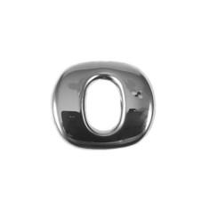"SCANIA R 04-18 emblem ""0"" letter cover chrome stainless"