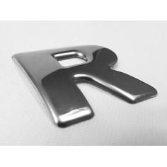 "SCANIA R 04-18 emblem ""R"" letter cover chrome stainless"
