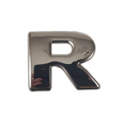"SCANIA R 04-18 emblem ""R"" letter cover chrome stainless"