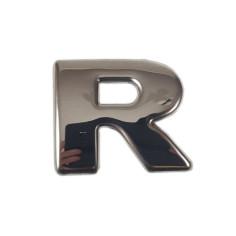 """SCANIA R 04-18 """"R"""" dekor na emblem nerez chrom"""