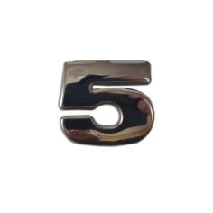 "SCANIA R 04-18 ""5"" dekor na emblem nerez chrom"