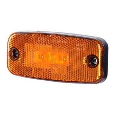 LED orange marker light with reflex