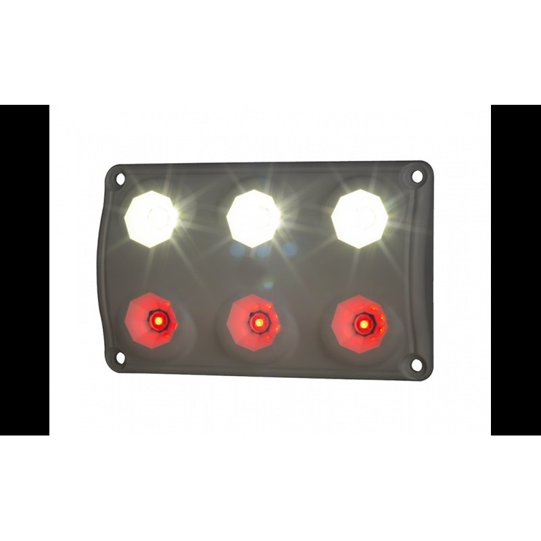 Innenraum LED Leucht Rot Weiss