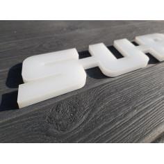 S-U-P-E-R EMBLEMAT PLASTIKOWY SCANIA SUPER