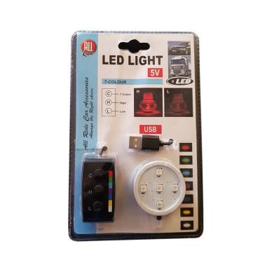 USB LED Beleuchtung POPPY Lufterfrischer